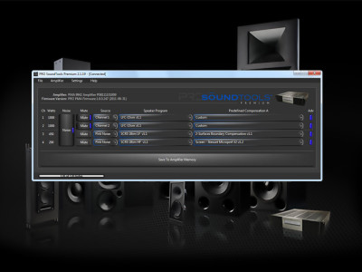 PRO SoundTools Software for Advanced Audio Calibration