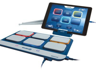 Simmons Drums Introduces Stryke6 iPad Drum Controller