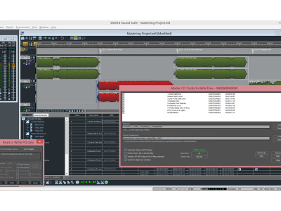 Prism Sound SADiE Version 6.1 Supports New Mastering and ISRC Code Features