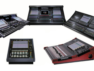DiGiCo Shows Dedicated Broadcast Consoles and Demos Three-way Network Communication at IBC2014