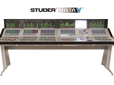 New Studer Vista V Introduced at IBC 2014