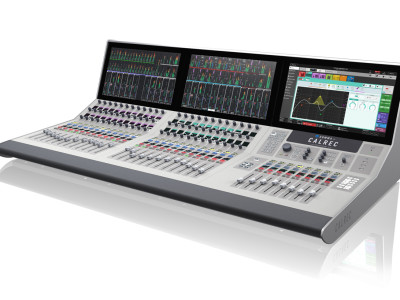 Calrec Introduces New Summa 128 Channels Console and Dante Interface