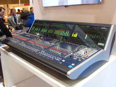 New Lawo mc²36 RAVENNA Mixing Console with Native RAVENNA/AES67
