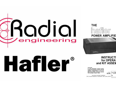 Radial Engineering Relaunches Hafler Brand