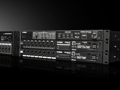 Yamaha New RMio64-D Dante/MADI Converter Shows at PLASA 2014 Together with New Version 3 Software For CL and QL Consoles