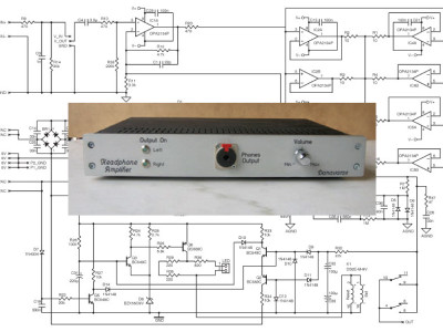 Build A High-Quality, High-Power Headphone Amplifier