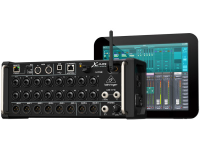 Behringer X Air Series Takes Stage Box Format Mixers Mainstream