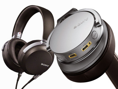 Three New Headphones, a Portable Headphone DAC/Amplifier and Headphone Cables from Sony