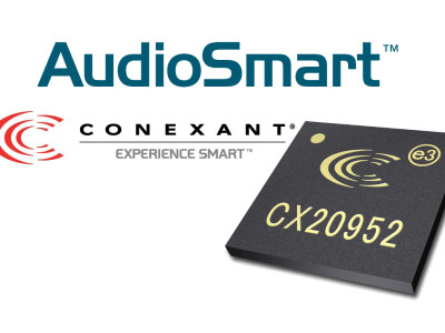 Conexant Launches New HD Audio Codec with Integrated AudioSmart Class-D Amplifier