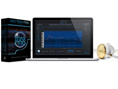 Audionamix Releases Audio Source Separation Software ADX TRAX Pro