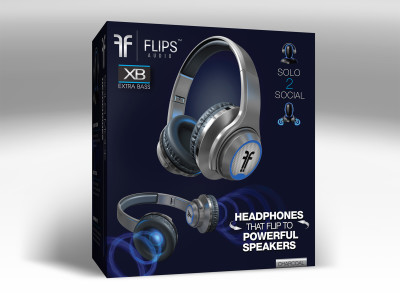 Flips Audio Announces Next Generation Headphone & Speaker Hybrid