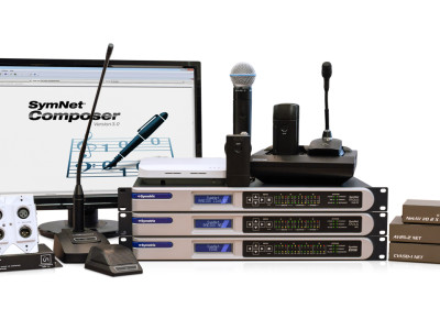 Symetrix Announces New Integration with Shure, Audio-Technica Products in SymNet Composer 3.0