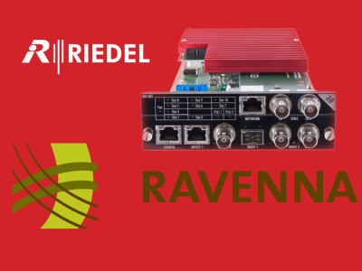 Riedel Confirms Adoption of AES67 Standard and Ravenna Technology Framework