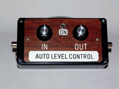 An inexpensive, easy-to-build sound level control
