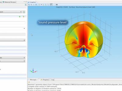 COMSOL Multiphysics 5.0 With Application Builder and COMSOL Server to Run Simulation Apps