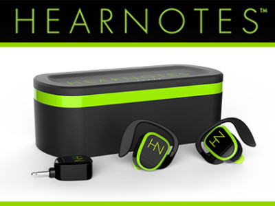 HearNotes WireFree Earbuds With Kleer Technology Debut at 2015 International CES