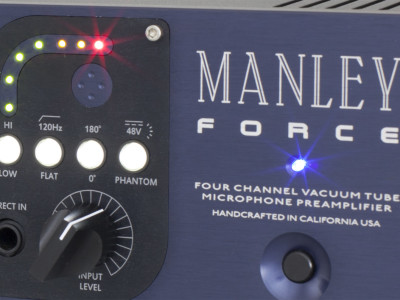 Manley Introduces FORCE Mic Preamp at 2015 NAMM Show