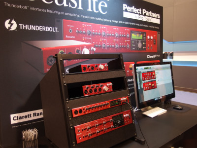 Focusrite Announces Clarett Range of Thunderbolt Interfaces