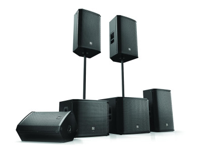 New EKX Portable Loudspeakers from Electro-Voice