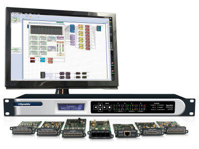 Symetrix Future-Proofs Projects with New SymNet Radius 12x8 EX DSP and New 2 Line VoIP Interface Card
