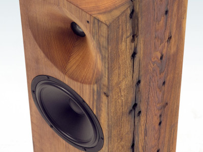 Heart Pine Speakers Designed by Fern & Roby