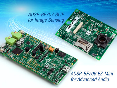 Analog Devices Announces New Low-Cost DSP Development Platforms for Advanced Audio Applications and New Flexible D/A Converter