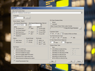 Audio Precision Delivers Dolby MS11 Test Solution