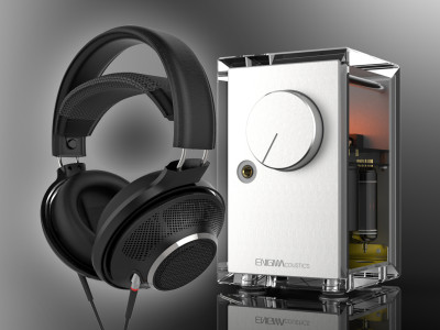 New Hybrid Electrostatic Headphones and Tube Hybrid Headphone Amplifier from ENIGMAcoustics