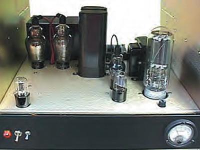 A 211 SE Triode Amp