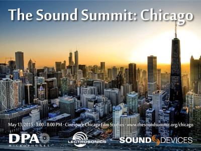 DPA Microphones, Lectrosonics and Sound Devices to Host Second Sound Summit Event in Chicago