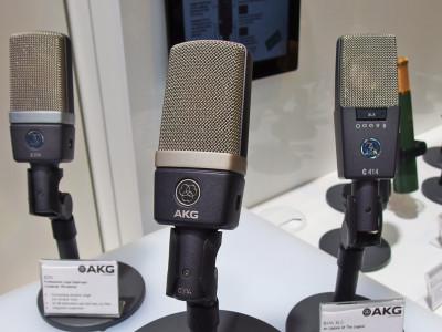 AKG Unveils new C314 Dual-Diaphragm Condenser Microphone