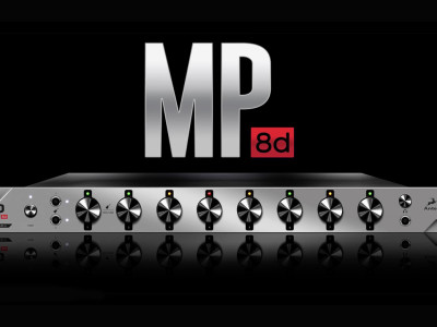 Antelope Audio Introduces MP8d, New Eight-Channel Microphone Preamplifier with A/D Conversion