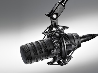 Audio-Technica Debuts BP40 Large-Diaphragm Dynamic Broadcast Microphone