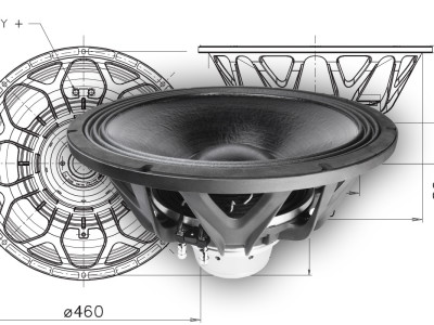 "New 18"" FaitalPro 18XL1800 Neodymium Super Woofer"