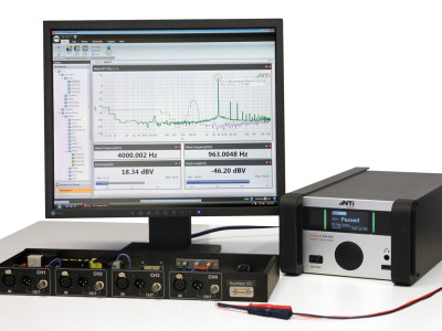 Easy Testing of Class-D Amplifiers with NTi Audio