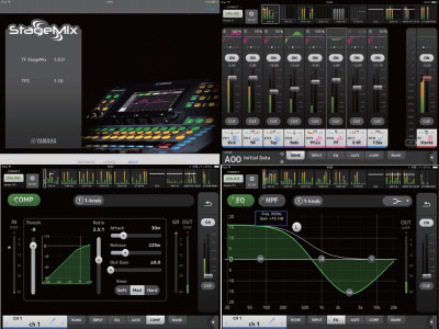 Yamaha Debuts TF StageMix Mobile Mixing App for TF Series Digital Consoles