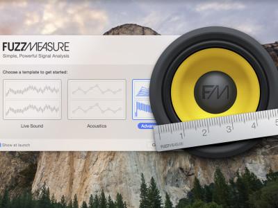 SuperMegaUltraGroovy Announces FuzzMeasure 4 Redesigned For OS X Yosemite