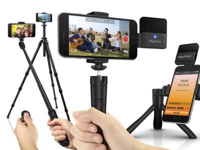 IK Multimedia Introduces iKlip Grip Multifunctional Smartphone Stand