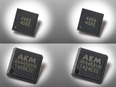 Next Generation Premium Multi-Channel DAC Series from AKM Reaches the Market