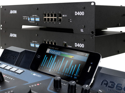 Aviom Makes Personal Mixing Systems More Flexible with Additional Dante Options