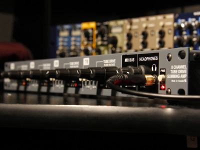 Radial's Space Heater 8 Channel Tube Drive and Summing Mixer Now Shipping