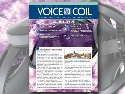 Voice Coil July 2015, Hot of the Press!