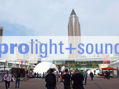 New Prolight+Sound Concept Generates Exhibitor Support for 2016