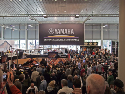 Yamaha Takes the Portalhaus Building for Musikmesse 2016