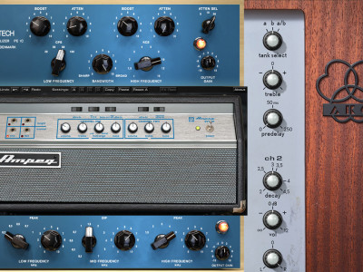 Universal Audio Releases UAD Software v8.3 Featuring AKG Spring Reverb, Ampeg SVT Bass Amp and Tube-Tech EQ Plug-Ins