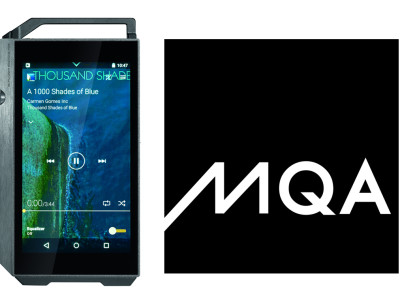 First MQA-Ready Portable Digital Audio Player Introduced at IFA 2015