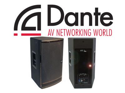 VUE Audiotechnik Provides Dante-Enabled h-12 Powered Speakers for Dante AV Networking World Fall Tour 2015