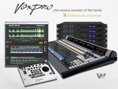 Wheatstone Acquires Audion Labs, Makers of VoxPro Digital Audio Editor