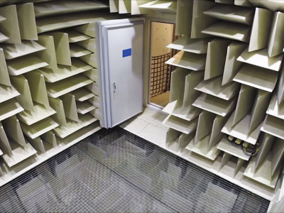 Eckel Anechoic Chamber Built for Microsoft Certified as The Quietest Place on Earth