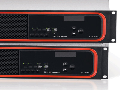 Biamp Systems Introduces New Tesira Networked Amplifiers